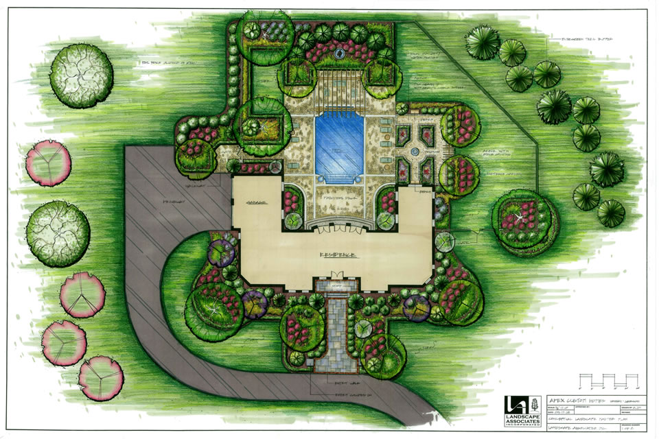 Landscape Plans And Drawings U2013 Landscape Associates Inc.