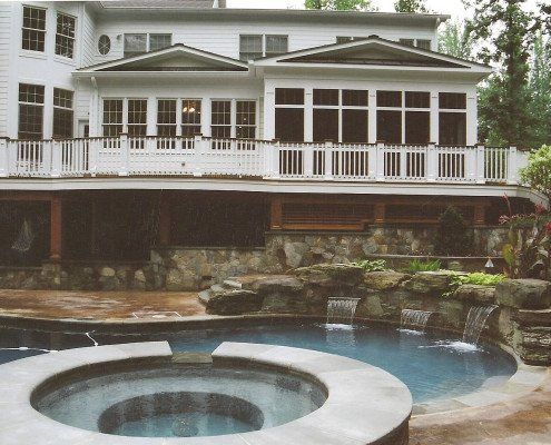 Porches Pool houses Pavilions
