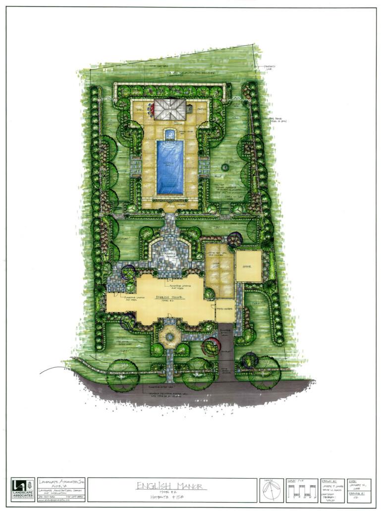 Landscape Plans And Drawings Landscape Associates Inc